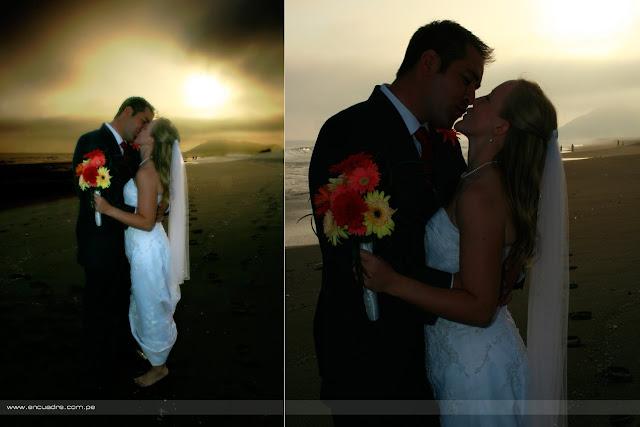 foto boda ceremonia playa chorrillos lima peru