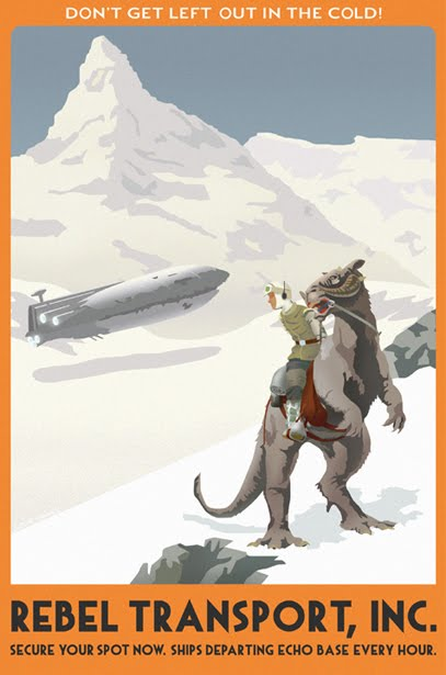 Hoth Travel Poster