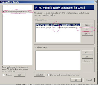 Manage Email Signatures in HTML Multiple Reply Signatures For Gmail