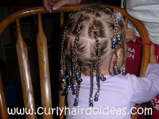 Curly Hairdo Ideas Box braids and Cornrows