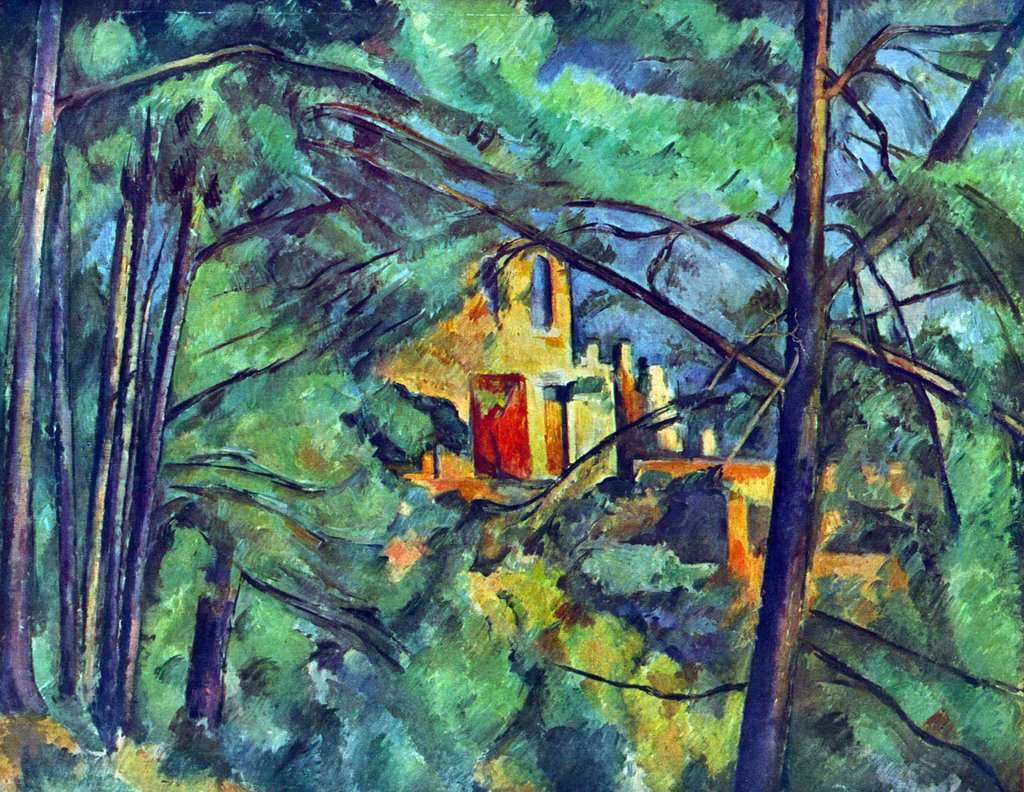Cezanne  Chateau Noir