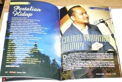 Majalah KONSEP keluaran Oktober 2008
