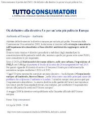Ok definitivo alla direttiva Ue per un'aria più pulita in Europa