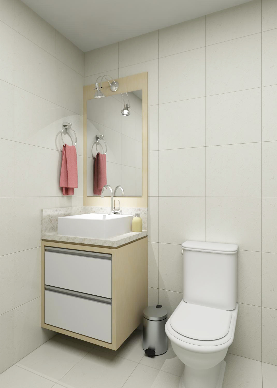 Móveis sob Medida e Decorações: Móveis sob Medida Banheiro #68493C 1070 1500