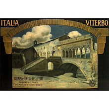 Vintage Viterbo Travel Poster