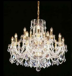 A Classic Crystal Chandelier for Every Budget and Style
