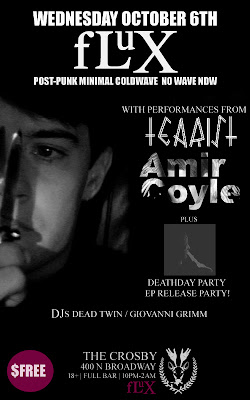 Fluxclub with Tearist, Amir Coyle and Deathday Party