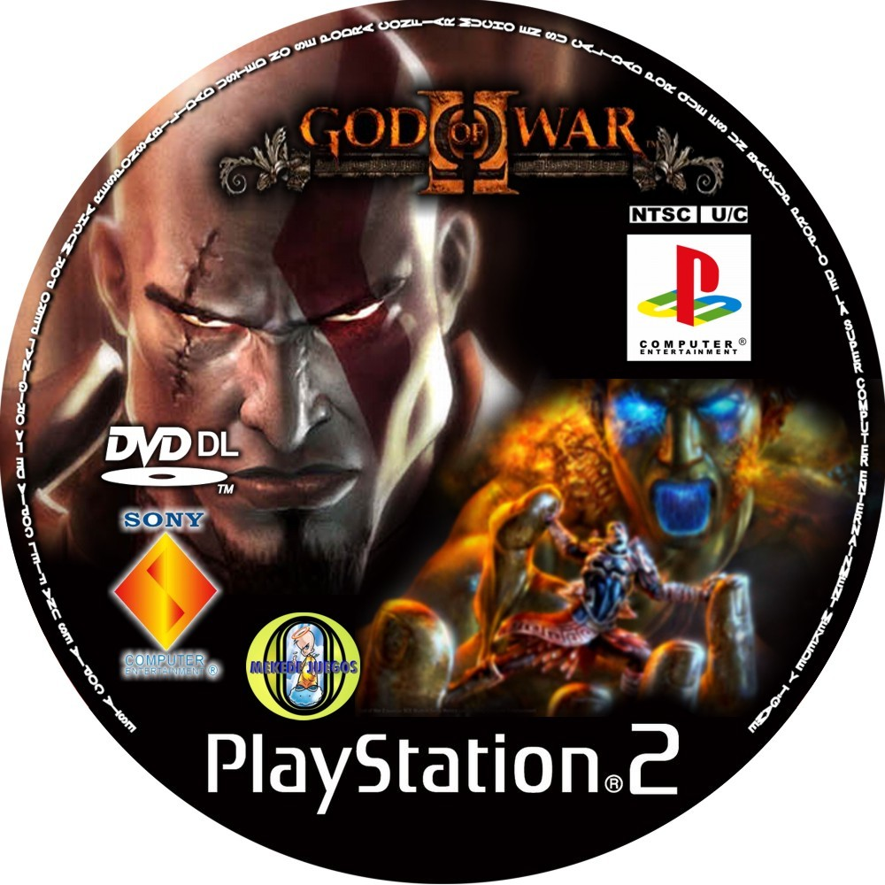 Descargar God Of War 2  English  PS2DVD5  NTSC  UTORRENT