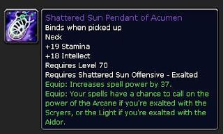 Shattered sun pendant