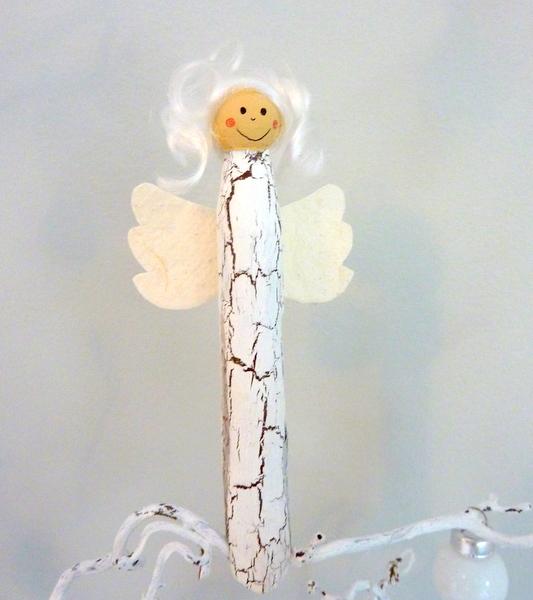 Detailverliebt Wascheklammer Engel