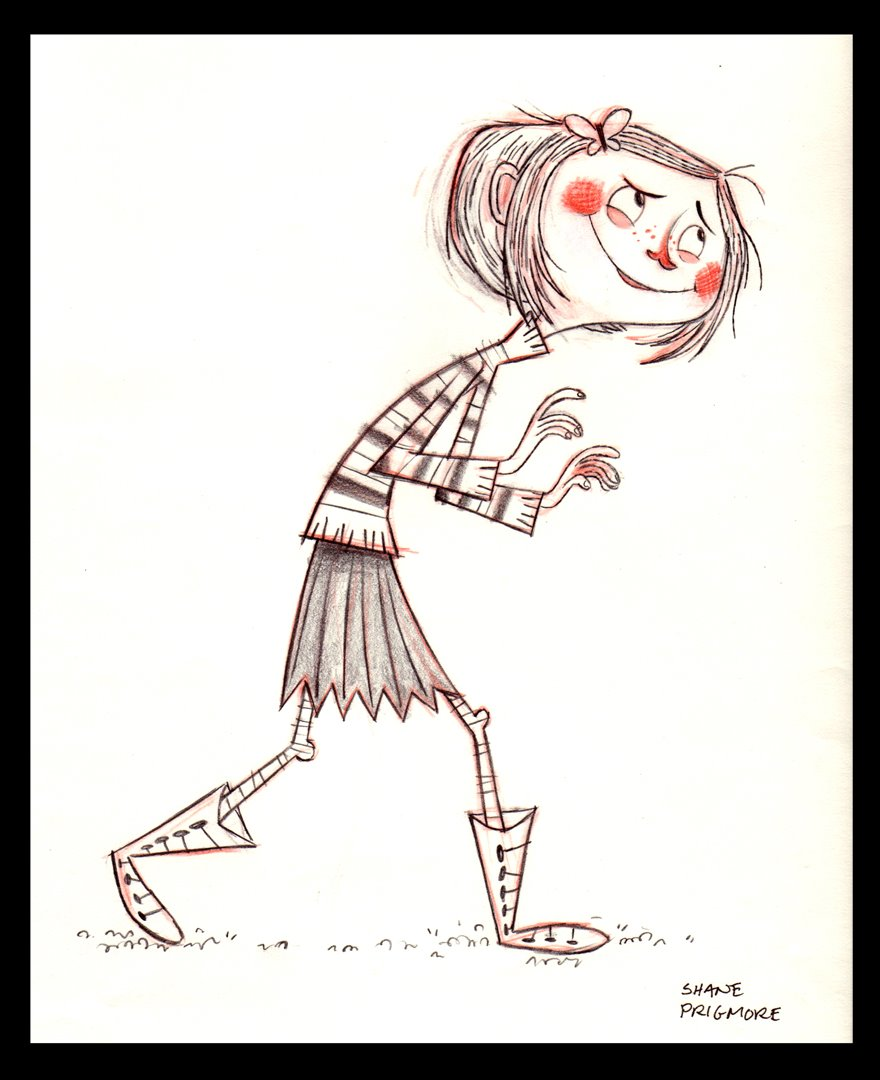 Character Design Library : Living lines library coraline character design