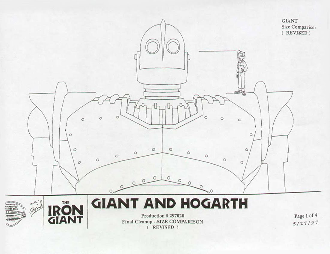Living lines library the iron giant character the iron for Conceptual site model template