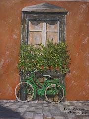 Ποδήλατο στο τοίχο