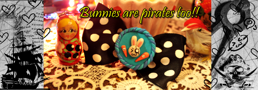 Bunnies are Pirates too