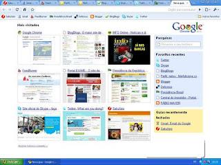 Screenshot do Google Chrome
