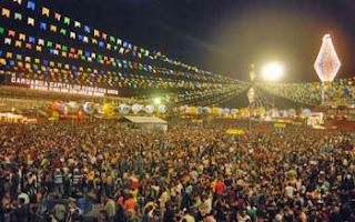 Começou o São João em Recife