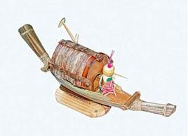 'เรือจำลอง' วัสดุ 'จั่นมะพร้าว' ก็เข้าท่า-2