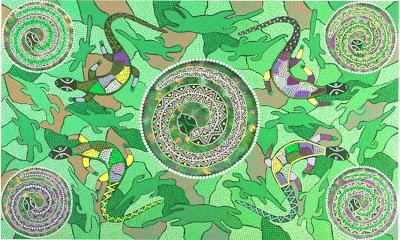 l'infinità del giro dei serpenti del sole
