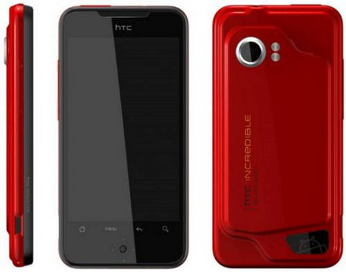 HTC Droid Incredible Smartphone – Topclass Features