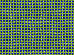 Waving Dots Motion Illusion