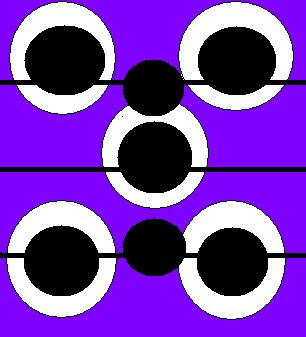 Bigger Circle Illusion | Black and White Circle Illusion