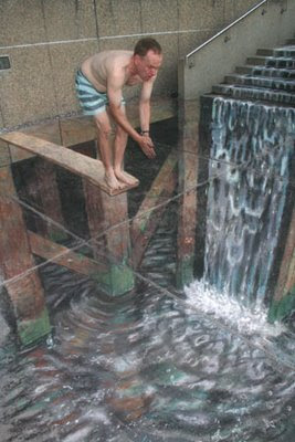Swiming Pool Look Alike Illusion