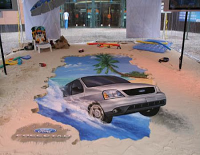 Painting illusion | Car optical illusion