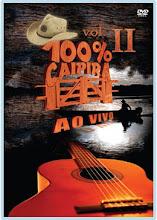 DVD - 100% Caipira Ao Vivo Vol. II