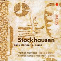Stockhausen: Bass Clarinet & Piano
