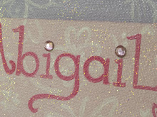Have embellishments added to your canvas...