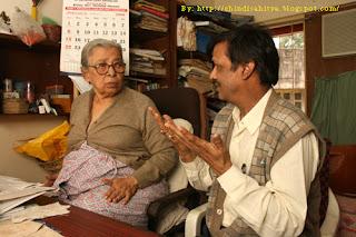 Mahasewta Devi and Shambhu Choudhary