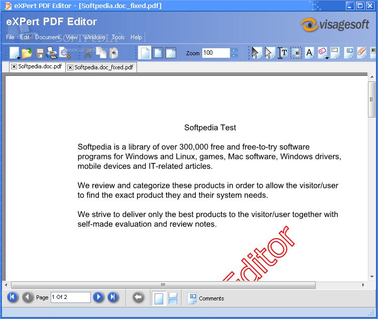 pdf file editor free trial