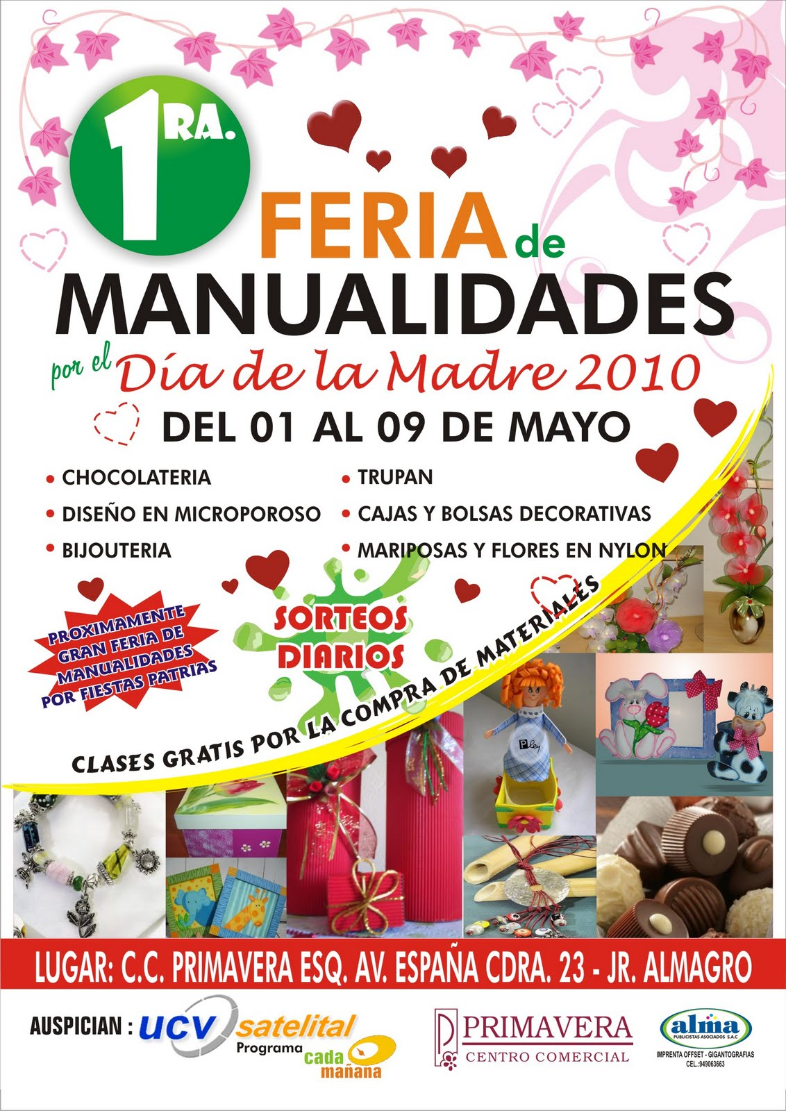 1 feria de manualidades por el d a de la madre agenda - Feria de manualidades en barcelona ...