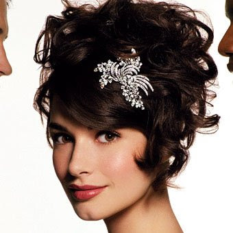 Wedding Styles for Curly Hair