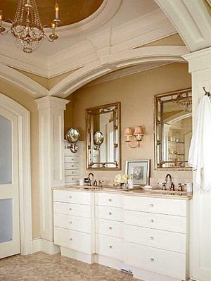 bathroom ideas: bathroom makeup vanities