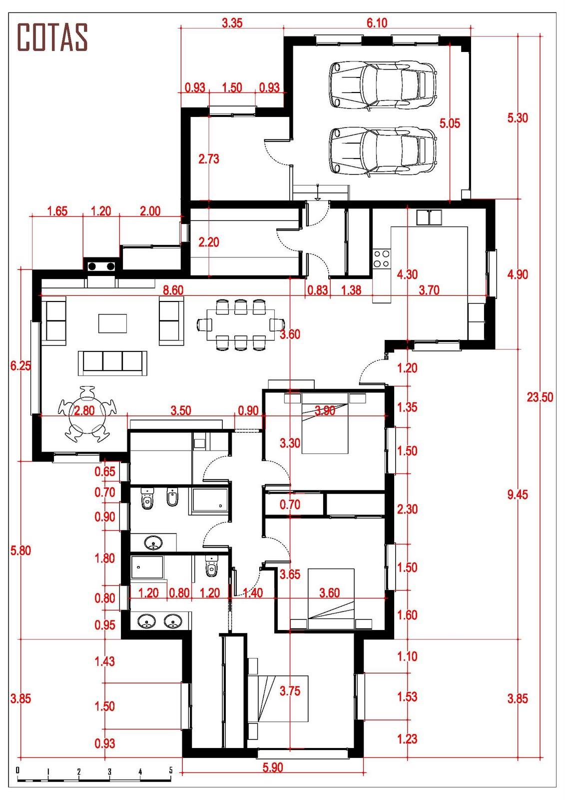 Realizaci n de planos vivienda unifamiliar en las rozas for Planos para viviendas