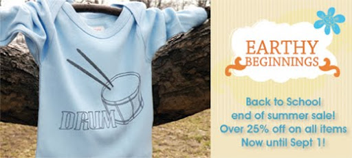 Back to School end of summer sale! Over 25% off on all items. Now until September 1 2009