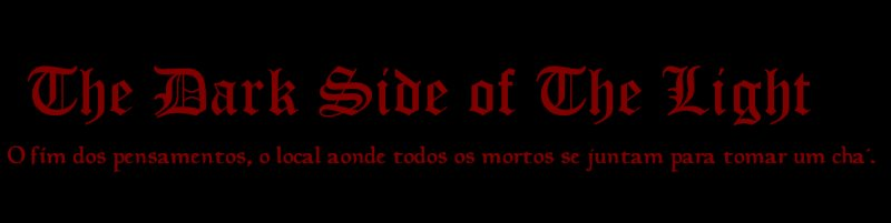 The Dark Side of The Light