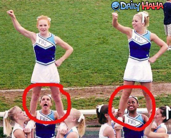 cheerleader bizarre