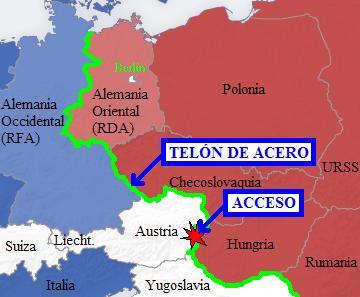 El telón de acero se agrieta: se abre la frontera Hungría-Austria