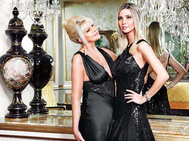 Glenn Plaskin's Reflections: IVANA TRUMP AND HER GREAT MOM ...