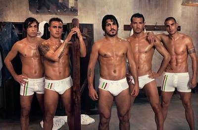 Flashback Friday - Italian National Football Team 2006 - Dolce & Gabbana Ad