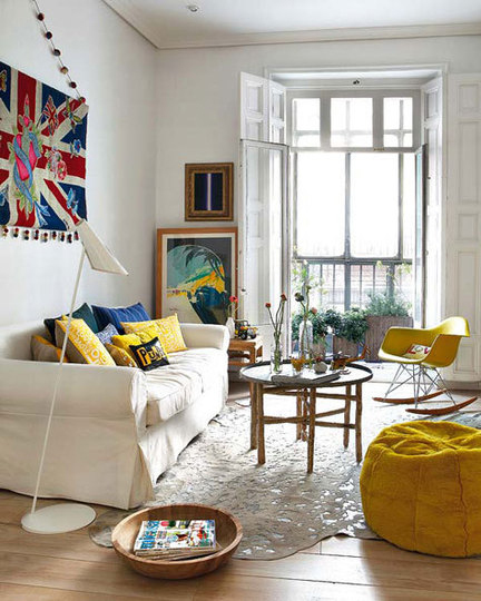 our place: Living Room Inspiration « Sycamore Street Press