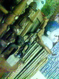 sculture africane riposano