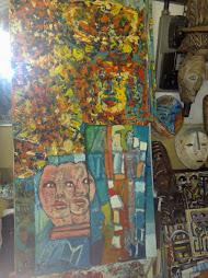 olio collage 100x120