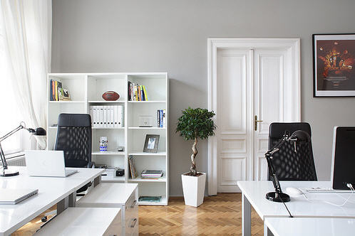 David dangerous grey painted walls - Ideas decoracion despacho ...