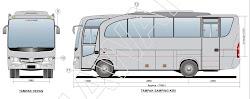 DIJUAL: HINO Bus Medium (Deluxe, BARU)