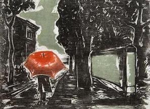 Até os dias de chuva têm sua beleza...