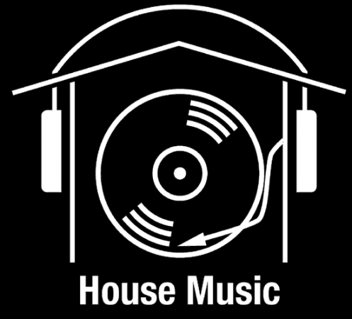 house music. i heart house music wallpaper.