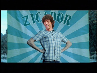 Mick Jagger pé frio